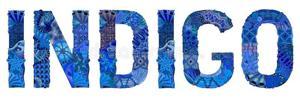 Hand painted art design drawn illustration word indigo t shirt other decoration vector decorative zentangle object 124525821