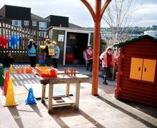 Reception outdoor classroom