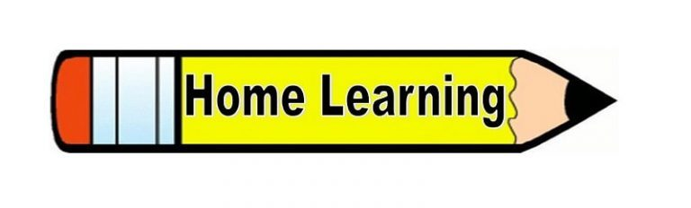 Home learning 768x232